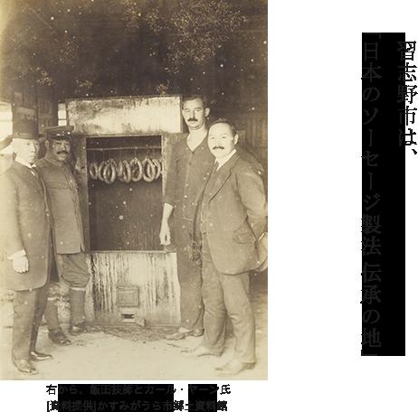 習志野ソーセージの歴史 | 習志野商工会議所